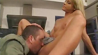 Father eats out Babysitters Pussy