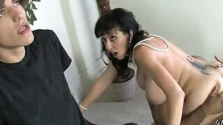 Mommy get fucked by monster mamba cock black dude