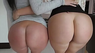 Big butt sluts share cock