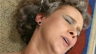 Moms Fingering her fat hairy wet pussy