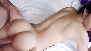 Beautiful taylor gets licked and fucked by stepbro