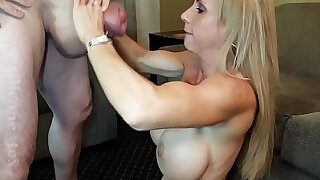 MILF Brooke Tyler and monster cock Silicone Tex