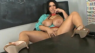 Big titted latina angelina castro in classroom